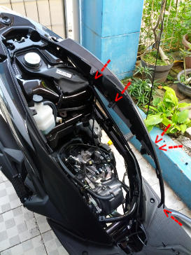 Diy ganti shock honda vario 125 helm in catatan harian adhi kiri perbandingan yss hybrid 330 dengan shock standard vario 125 helm in 320mm kanan patokan sekrup sekrup untuk membuka bodi samping asfbconference2016 Choice Image